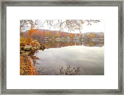 A Day In Autumn Framed Print