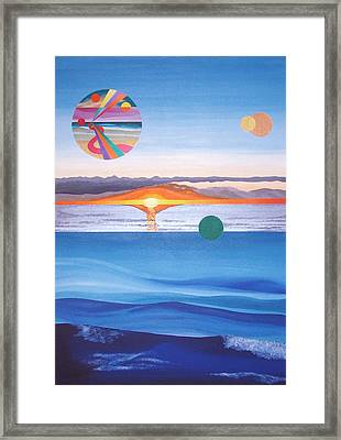 A Day In December Framed Print by Eliot LeBow