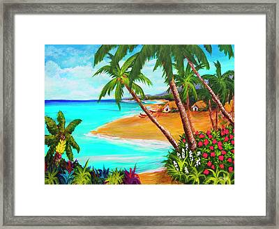 A Day In Paradise Hawaii #359 Framed Print by Donald k Hall