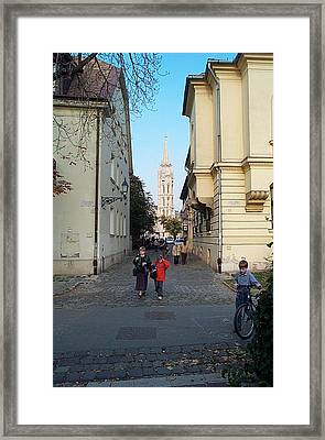 A Day In The Life Framed Print by John Julio