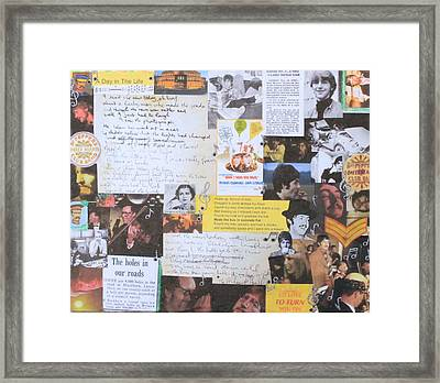 A Day In The Life Framed Print