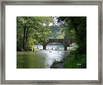 A Day In The Ozarks Framed Print by Julie Grace
