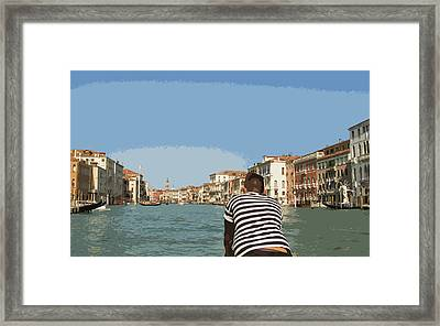 A Day In Venice Framed Print
