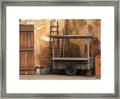 A Day Of Rest Framed Print by Kathryn Blackman