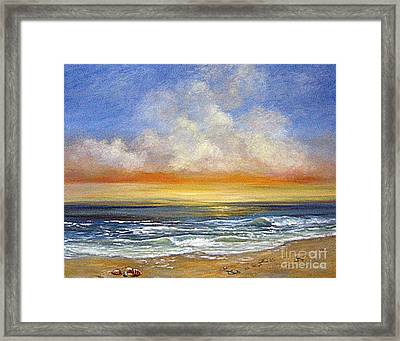 A Day To Remember  Sold Framed Print by Jeannette Ulrich