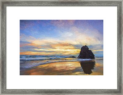A Days Contemplation II Framed Print