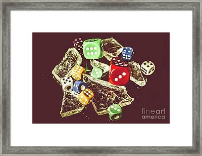 A Dealers Cut Framed Print by Jorgo Photography - Wall Art Gallery