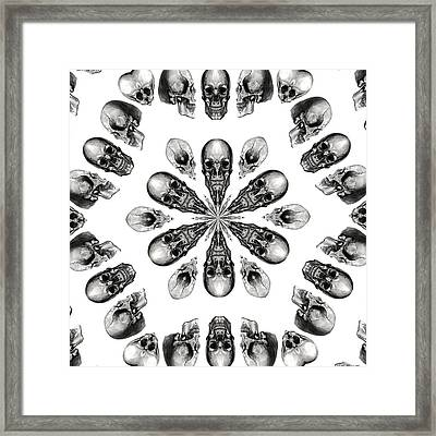 A Death Hex Framed Print
