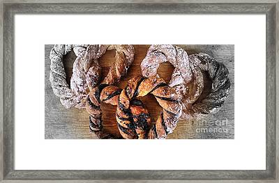 A Decadent Breakfast Framed Print by Clare Bevan