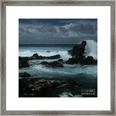 A Delicate Way Framed Print by Sharon Mau