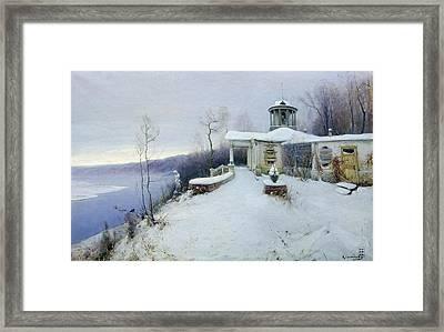 A Deserted Manor House  Framed Print