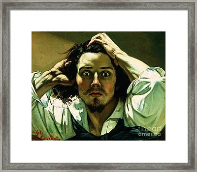 A Desperate Man Framed Print by Pg Reproductions