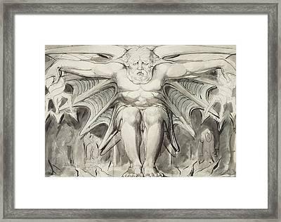 A Destroying Deity Framed Print