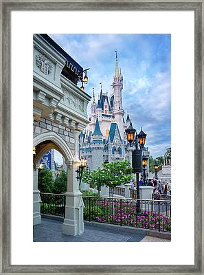 Framed Print featuring the photograph A Different Angle by Greg Fortier