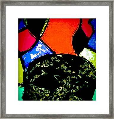 A Different Frame Of Mind Framed Print by Fania Simon