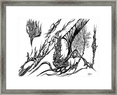 A Different Slant Framed Print by Charles Cater