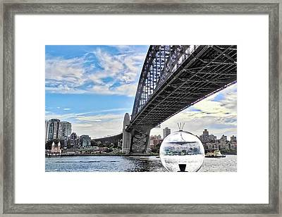 A Different View Of Sydney Australia Framed Print