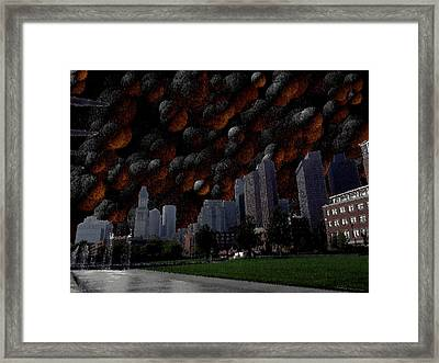 A Dimension Of Boston Rarely Seen Framed Print