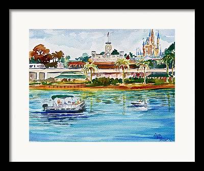 Lake Buena Vista Framed Prints