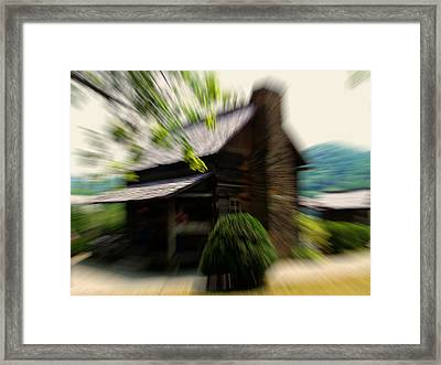 A Distant Memory Framed Print by Chris Flees