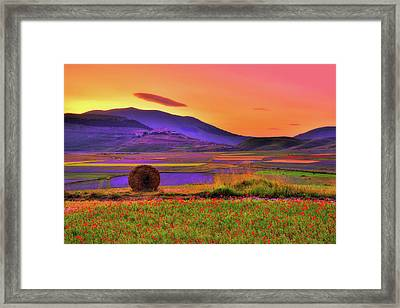 A Distant Tale Framed Print