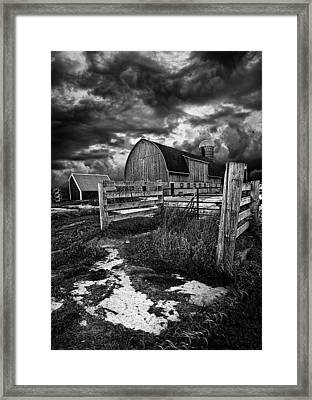 A Distant Thought Framed Print