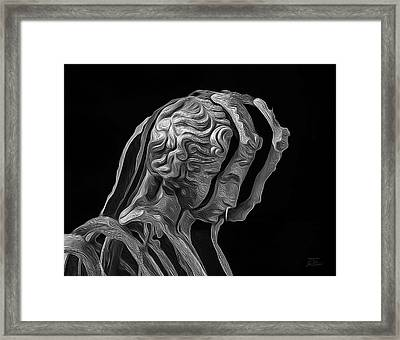 A Divided Mind Framed Print