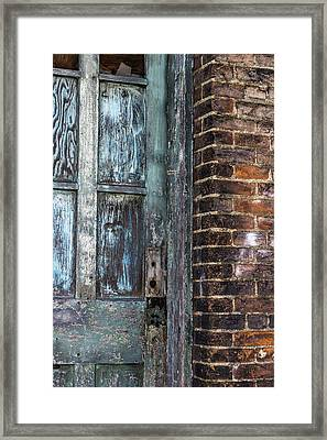 A Door In The Alley Framed Print