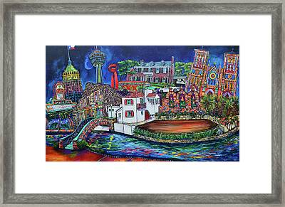 A Dos Xx Kinda Night Framed Print