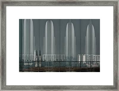 A Double Look. Framed Print by Greetje Van Son