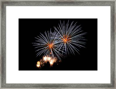 A Double Shot Framed Print by Marnie Patchett