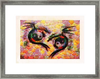 A Dragons Tale Framed Print