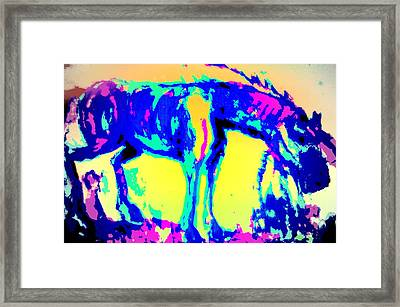 When You Dream About A Fool And You Know You Should Let It Go But You Dont, Then The Fool Is You  Framed Print by Hilde Widerberg