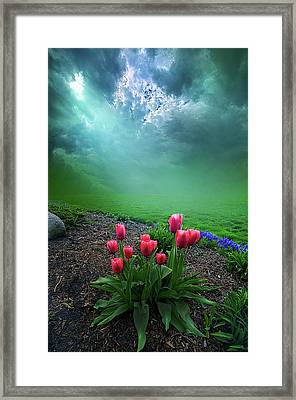A Dream For You Framed Print