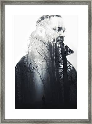 A Dream Framed Print by Art of Invi