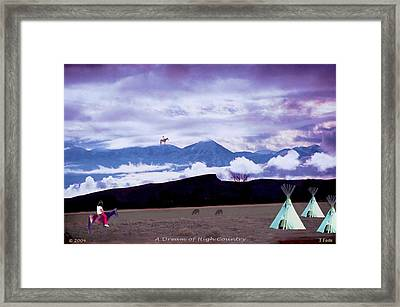 A Dream Of High Country Framed Print