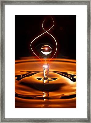 A Drop Of Light Framed Print