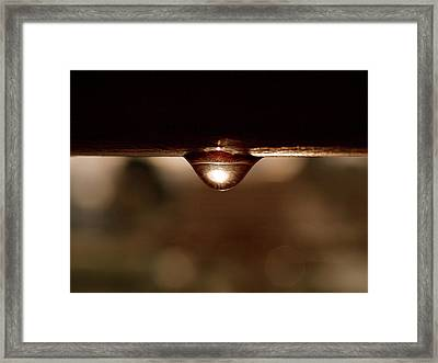 A Drop Of Sun Framed Print