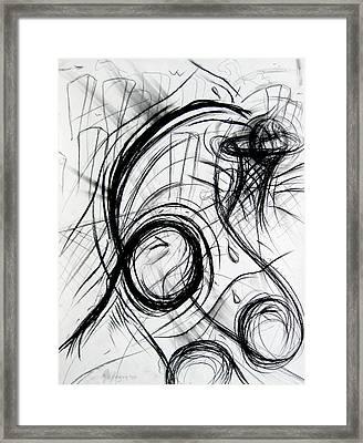 A Dunking Framed Print