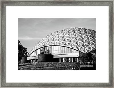 A E Wood Coliseum Bw Framed Print