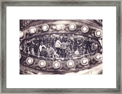 Framed Print featuring the photograph A Fair Day by Caitlyn  Grasso