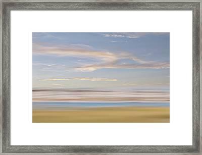 A Fair Wind Framed Print