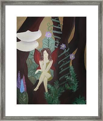 A Fairy's Sigh Framed Print