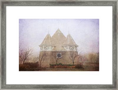 A Fairytale Fog Framed Print by Heidi Hermes