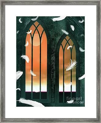 A Fallen Angel Framed Print