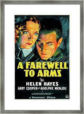 A Farewell To Arms 1932 Framed Print