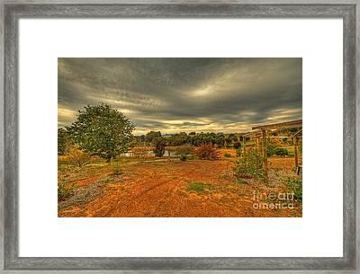 A Farm In Bridgetown, Western Australia Framed Print