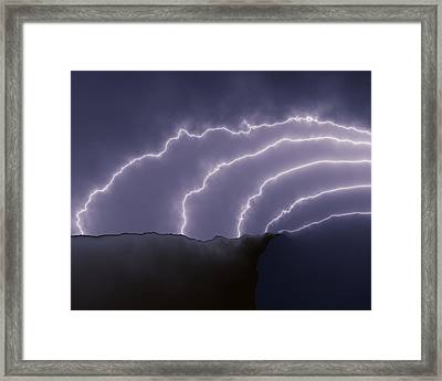 A Fatal Attraction Framed Print by Vic Eberly