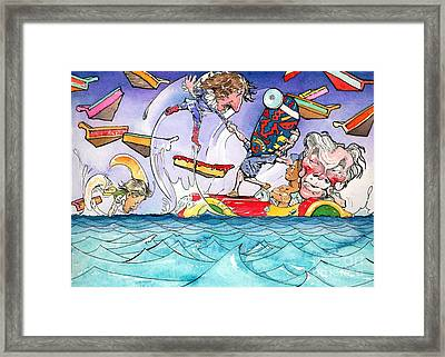 A Fatal Conceit Sample  Framed Print by Robert  Myers