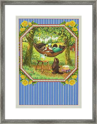 A Father's Day Treat Framed Print by Lynn Bywaters